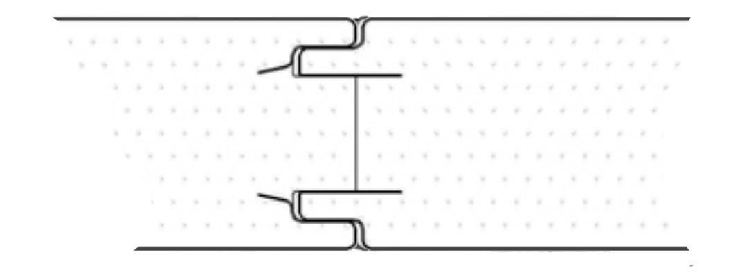 Схема соединения панелей